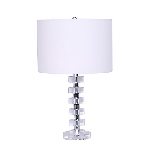 """Jazz"" Crystal Table Lamp"