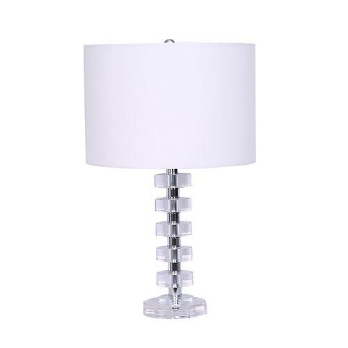 """Jazz"" Crystal Table Lamp"