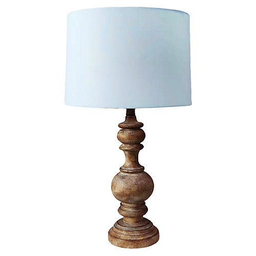 Jordan Wood Table Lamp