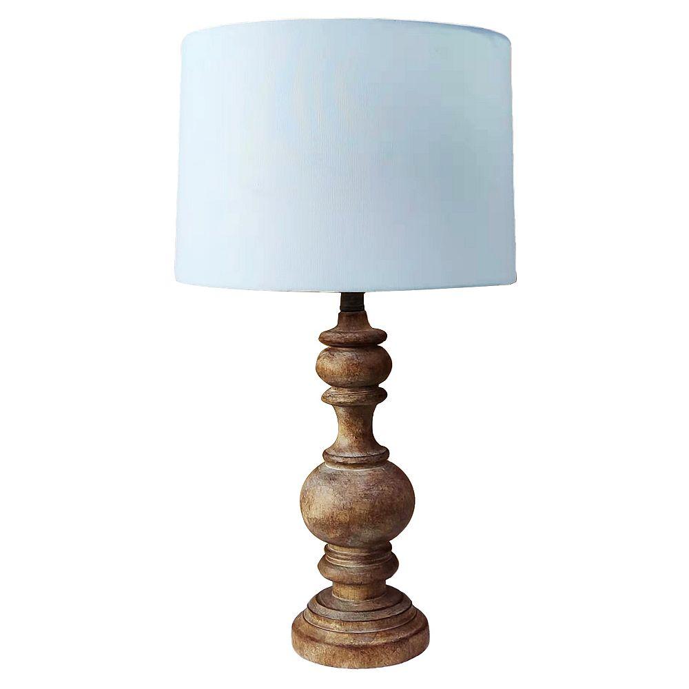 L2 Lighting Lampe de Table en Bois Jordan