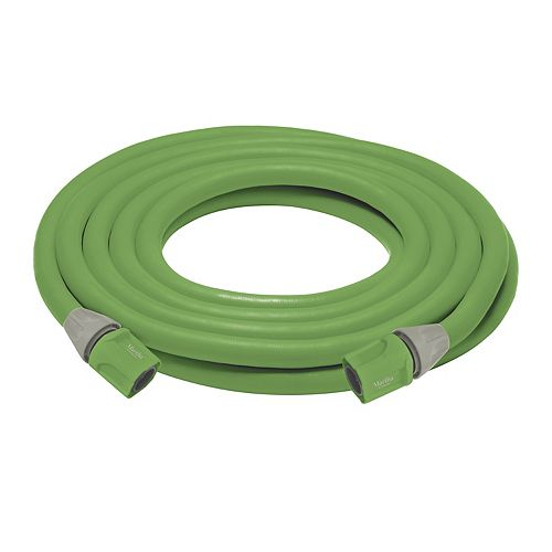 Martha Stewart Living Martha Stewart 50 ft. Expandable Lightweight Kink-Free Garden Hose with four Quick-Connectors