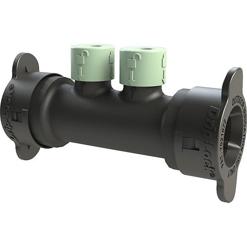 Orbit 2-Port Full-Flow Inline Drip-Lock Manifold