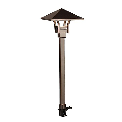 4.5W Oil Rubbed Bronze Outdoor Integrated LED Landscape Path Light