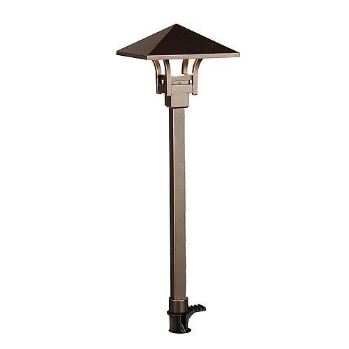 Hampton Bay Luminaire à Del Pour Chemin D'accèsFini Bronze Huilé