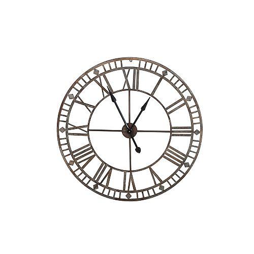 Horloge pour l'extérieur, acier