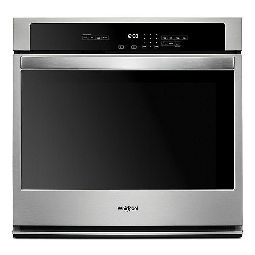 27-inch W 4.3 cu. ft. Single Electric Thermal Wall Oven with Self-Cleaning in Stainless Steel