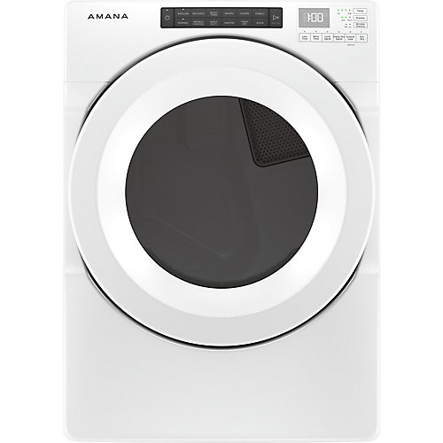 7.4 cu. ft. Front Load Gas Dryer in White - ENERGY STAR®