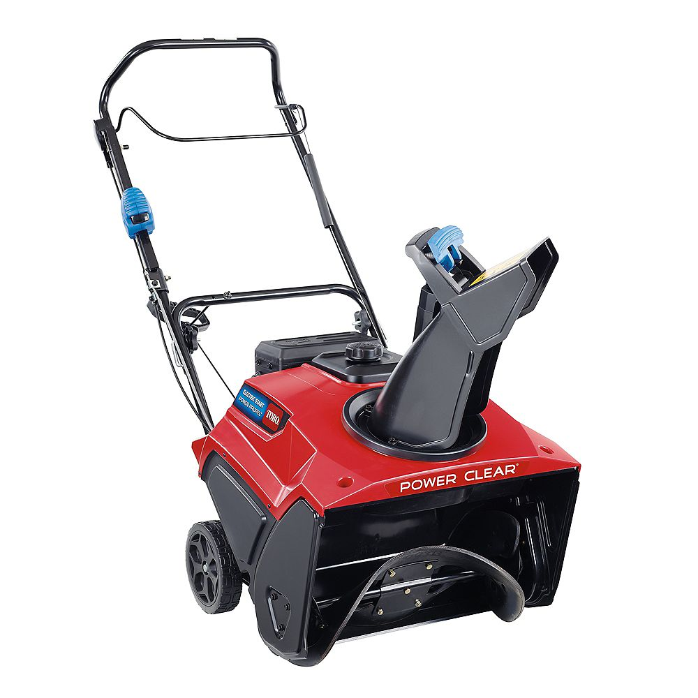 Toro Power Clear 721 QZE 21-inch Single-Stage Snowblower