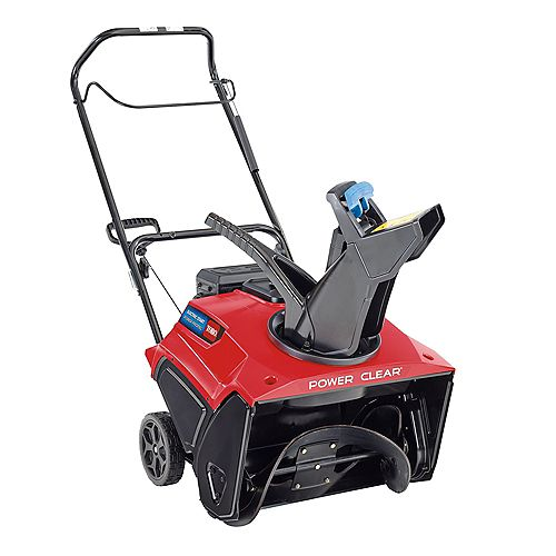 Power Clear 721 R 21-inch 212 cc Single-Stage Self Propelled Gas Snow Blower