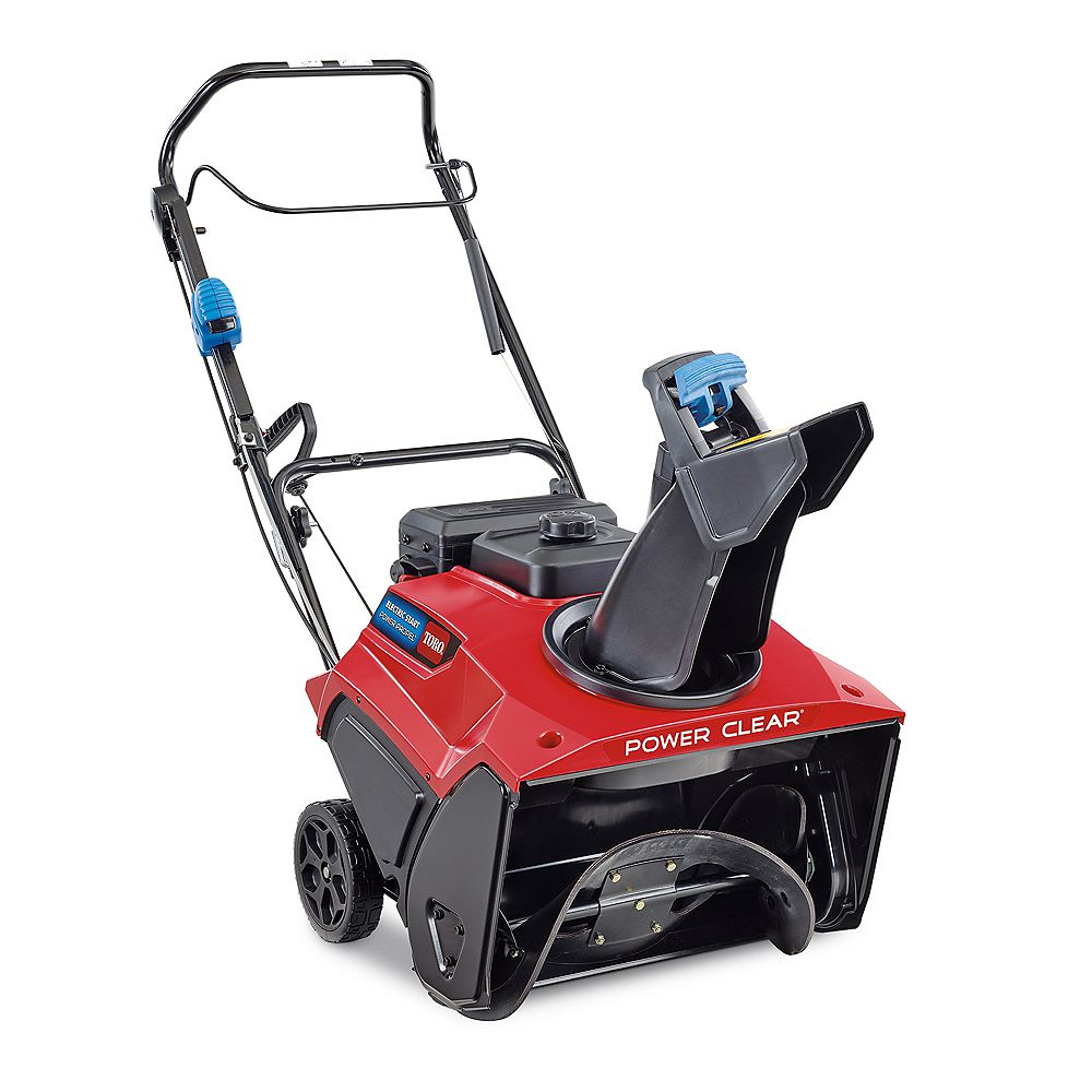 Toro Power Clear 821 QZE 21-inch 252 cc Single-Stage Self Propelled Gas Snow Blower with Electric Start