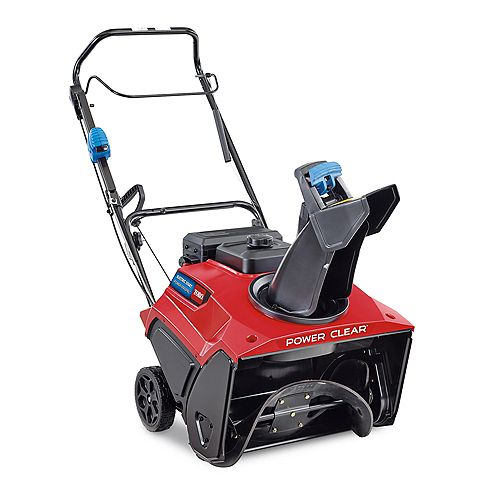 Power Clear 821 QZE 21-inch 252 cc Single-Stage Self Propelled Gas Snow Blower with Electric Start
