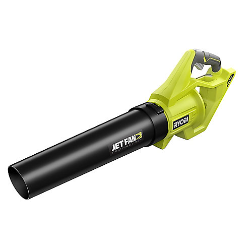 110 MPH 500 CFM Variable-Speed 40V Lithium-Ion Cordless Battery Jet Fan Leaf Blower (Tool Only)