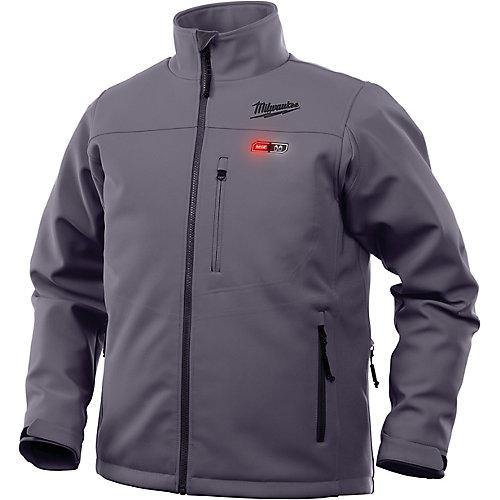 Men's X-Large M12 12V Lithium-Ion Cordless Gray Heated Jacket (Jacket Only)