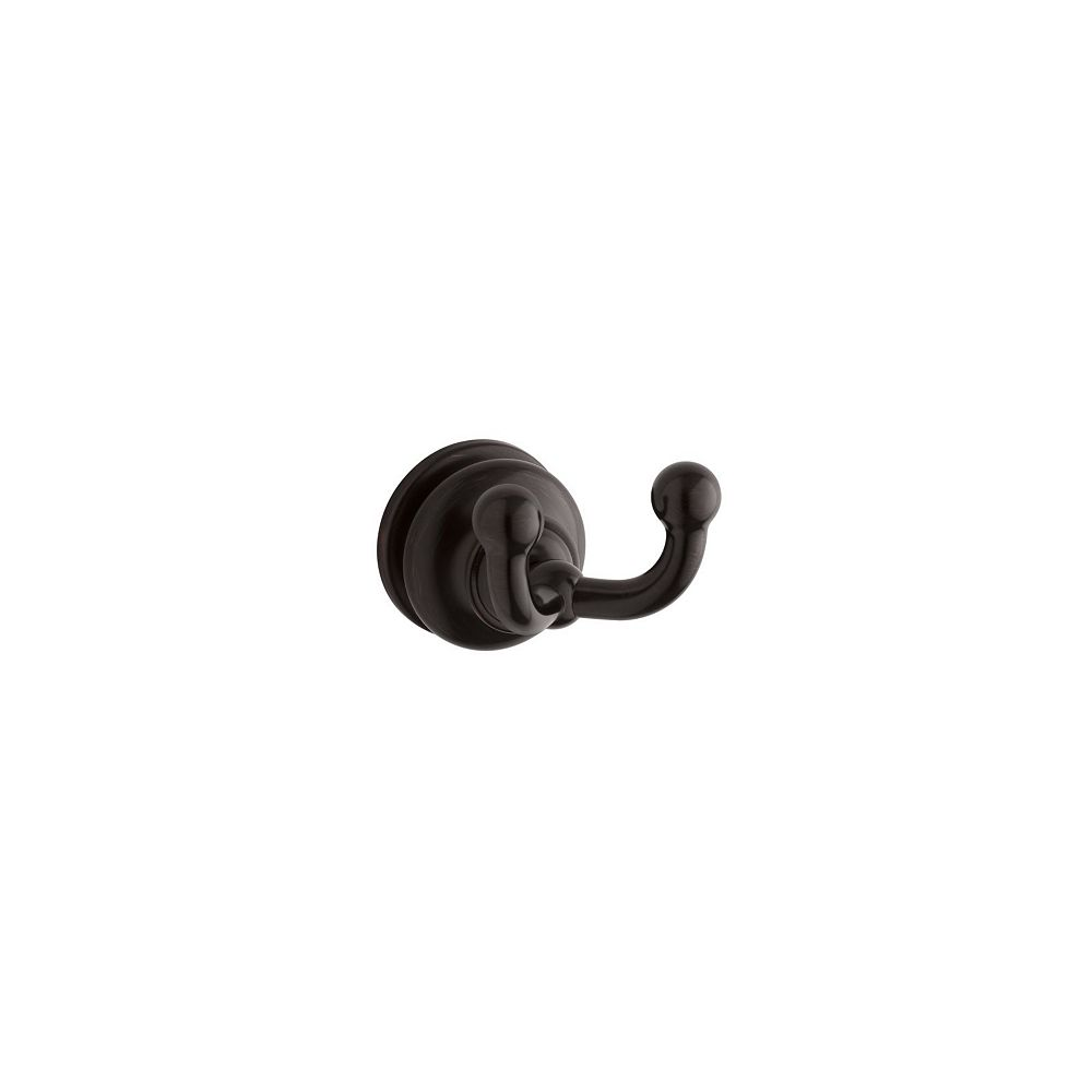 KOHLER Double robe hook in Oil-Rubbed Bronze