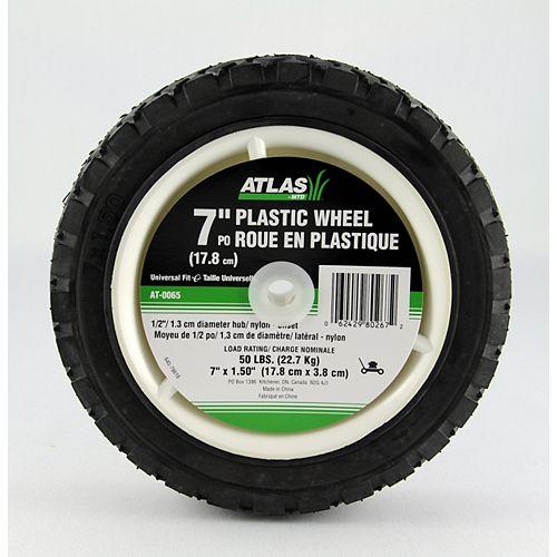 &-inch x 1 1/2-inch Universal Plastic Wheel