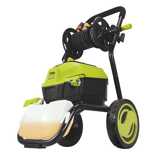 Sun Joe 2500 Max PSI 1.48 GPM 13 Amp High Performance Electric Pressure Washer with Hose Reel
