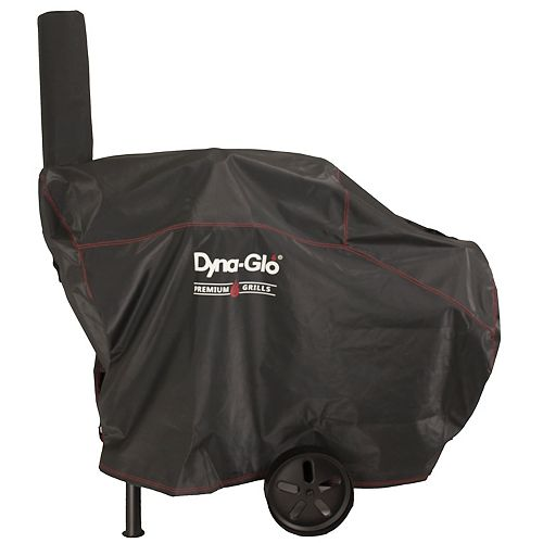 Dyna-Glo Barrel Charcoal 55.51-inch W x 20.90-inch D x 39.76-inch H Grill Cover