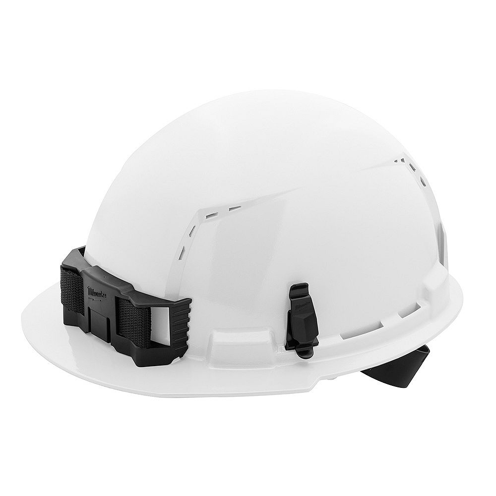 Milwaukee Tool Front Brim Vented Hard Hat with BOLT Accessories Type 1 Class C