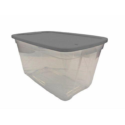 Edge Plastics Fourre-tout 35L Clear