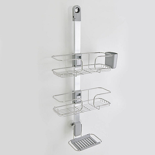 Ulysse Shower Caddy with Adjustable Trays