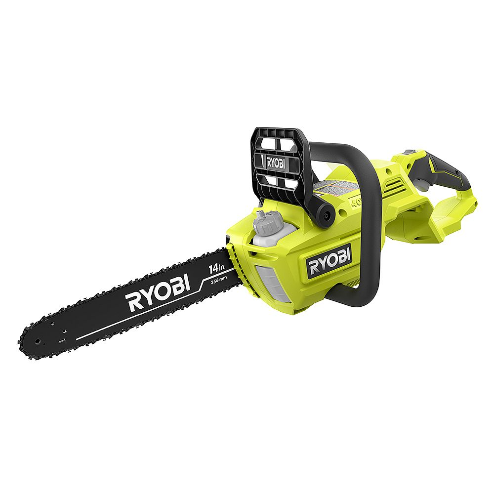RYOBI 14 -inch 40V Cordless Battery Brushless Lithium-Ion Chainsaw (Tool Only)