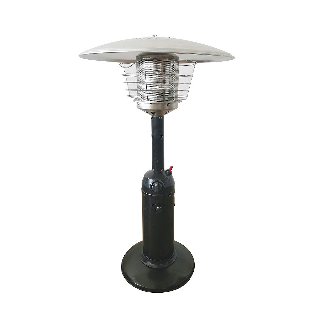 Hampton Bay 36-inch Outdoor Table Top Patio Heater in Black Finish