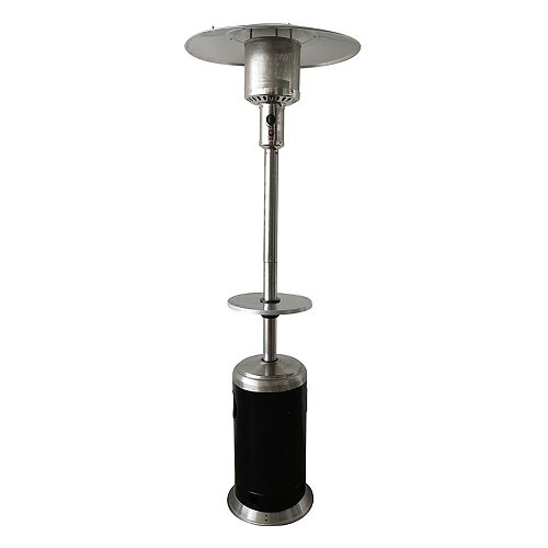 87-inch Outdoor Steel Propane Patio Heater in Painted Finish