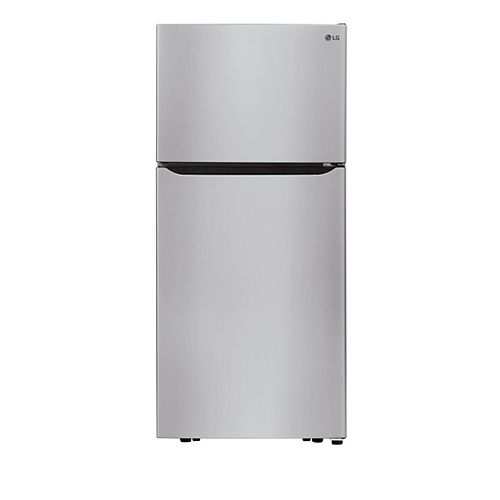 30-inch W 20 cu. ft. Top Freezer Refrigerator in Stainless Steel