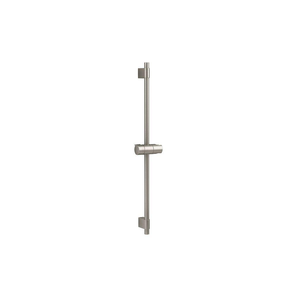"""KOHLER 24"""" shower slidebar in Vibrant Brushed Nickel"""