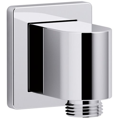 KOHLER Wall-mount supply elbow in Polished Chrome
