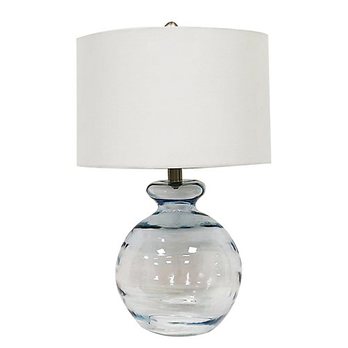 Riley Glass Table Lamp