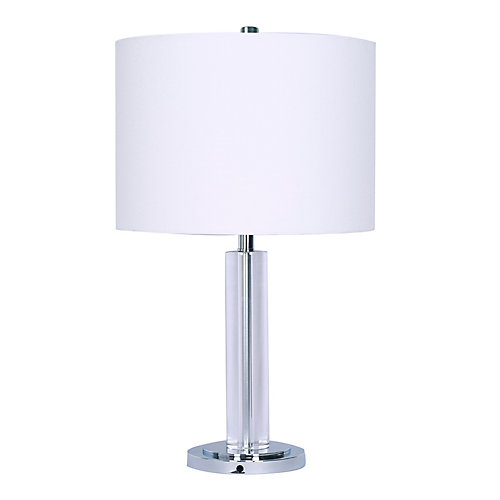 """Adrian"" Crystal Table Lamp"