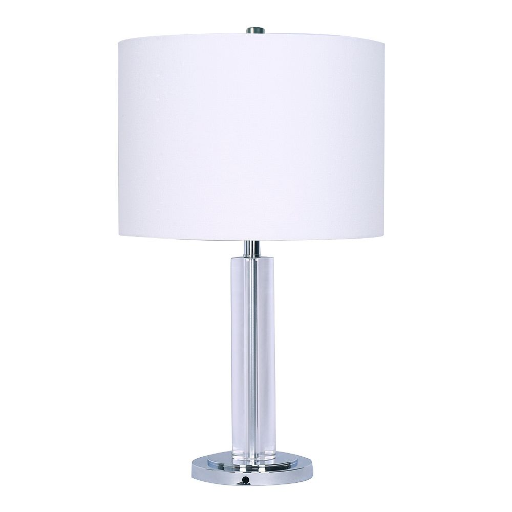 "L2 Lighting ""Adrian"" Crystal Table Lamp"