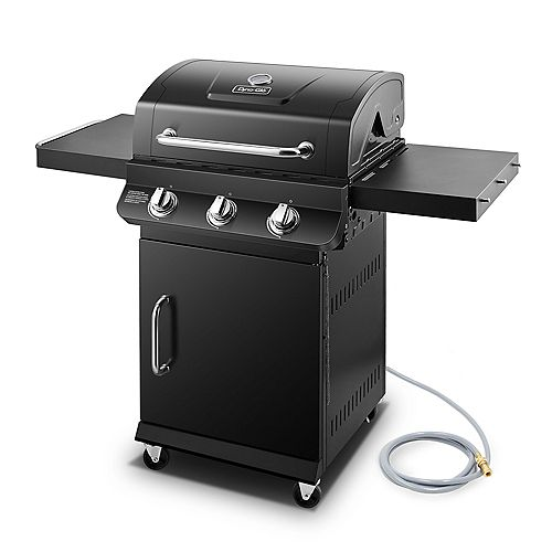 Premier 3-Burner Natural Gas Grill in Black