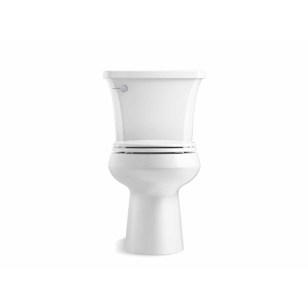 KOHLER Highline Arc Comfort Height The Complete Solution 1.28 gpf Round-Front Toilet in White