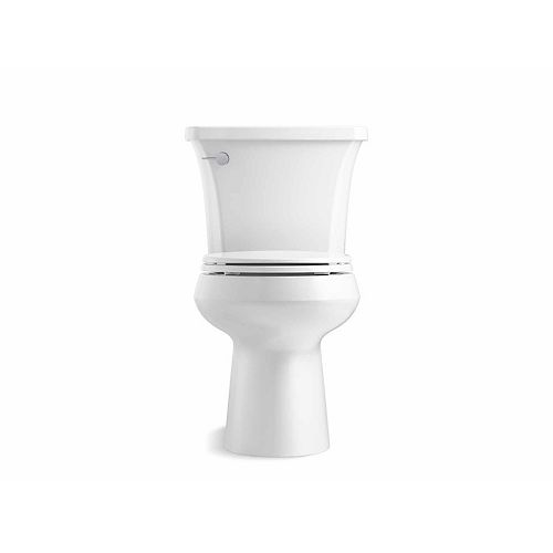 Highline Arc Comfort Height The Complete Solution 1.28 gpf Round-Front Toilet in White