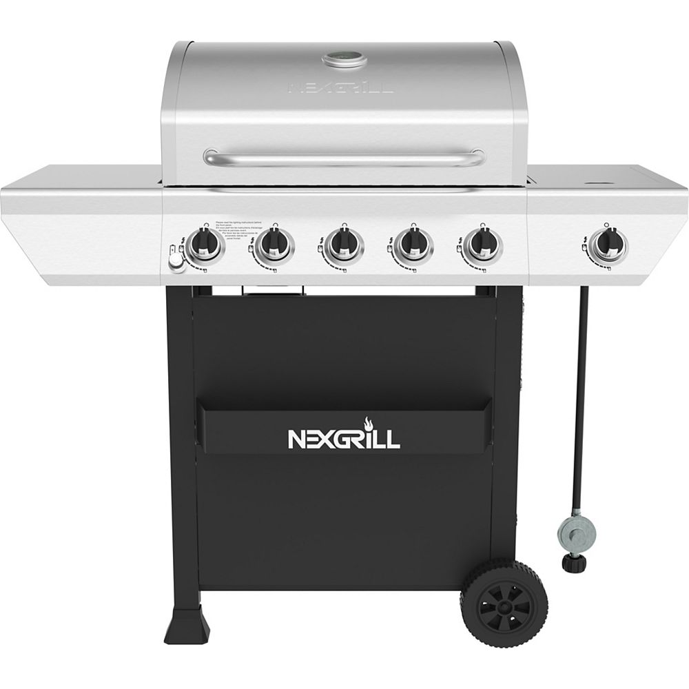 NexGrill 5-Burner Propane Gas Grill in Stainless Steel 720-0888S