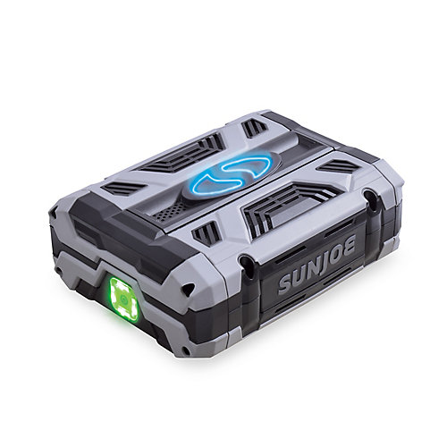 Sun Joe 100V 2.5 Ah Lithium-iON Battery with USB Port