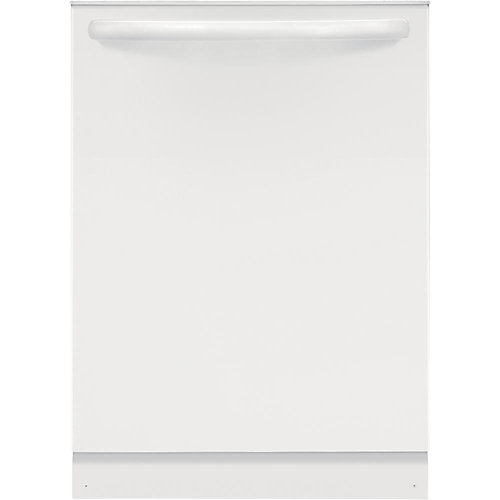 24-inch Top Control Dishwasher in White with BladeSpray® Spray Arm