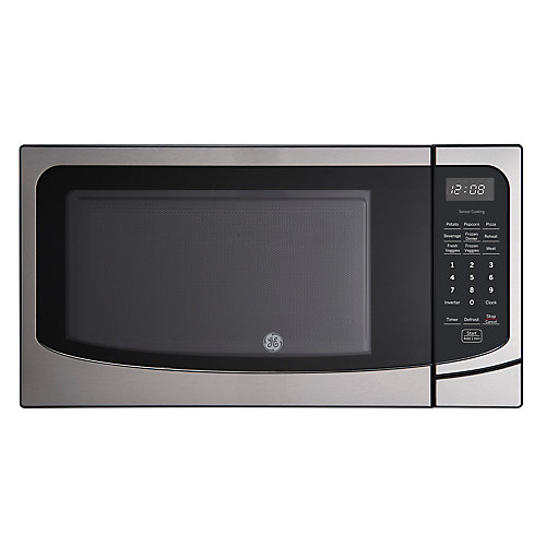 22-inch 1.6 Cu. Ft. Countertop Microwave Oven in Stainless Steel