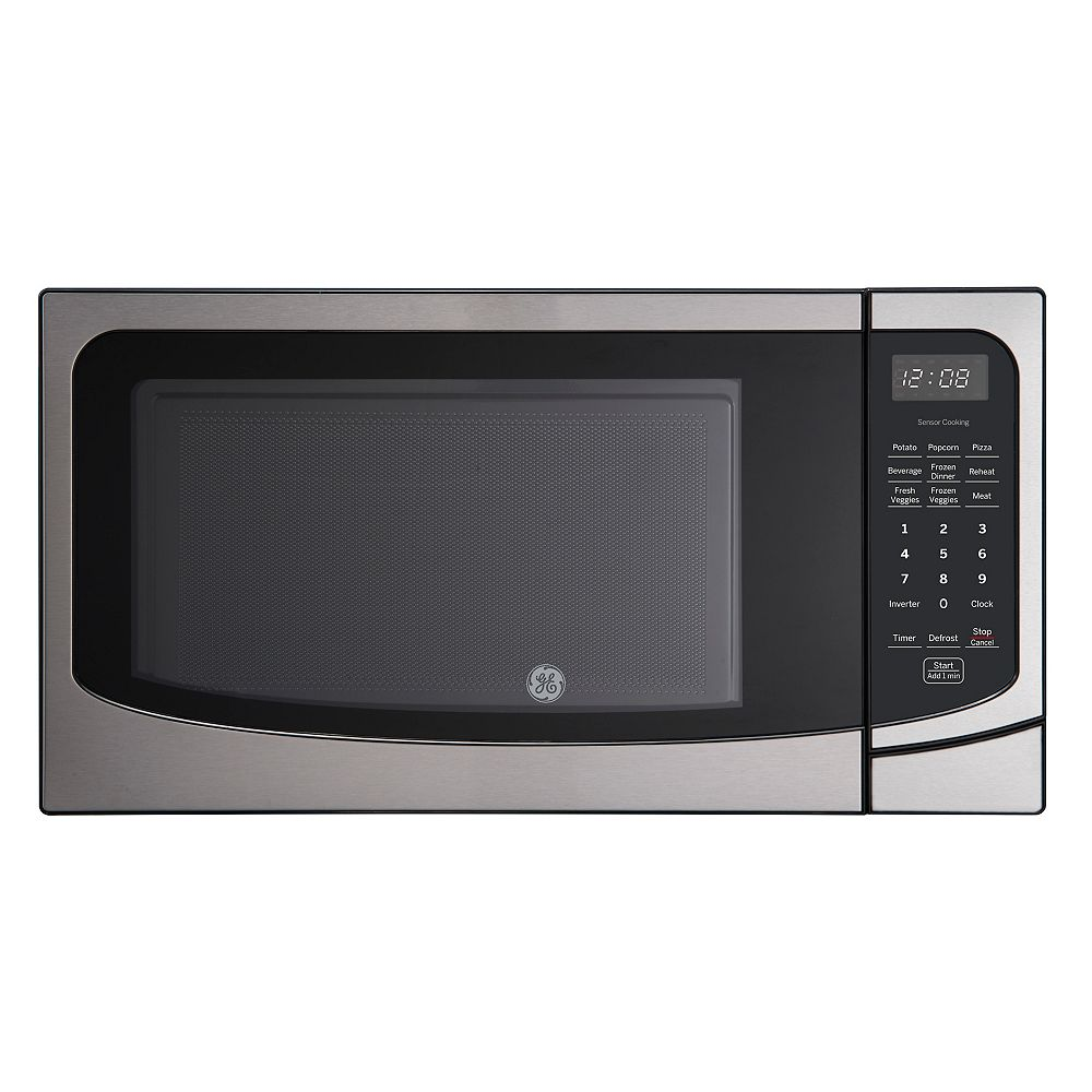 GE 22-inch 1.6 Cu. Ft. Countertop Microwave Oven in Stainless Steel