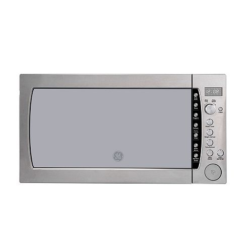 GE Profile 25-inch 2.2 Cu. Ft. Countertop Microwave Oven in Stainless Steel