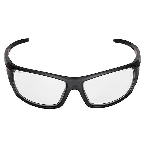 Milwaukee Tool Performance safety Glasses with Clear Lenses