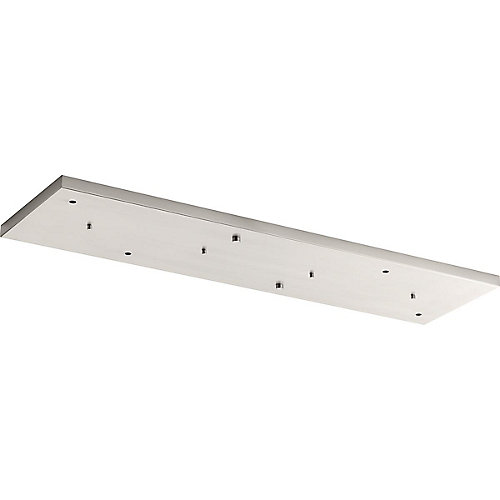 Canopy, brushed nickel