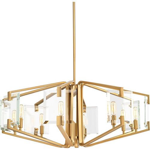 Progress Lighting Cahill Eight-Light Chandelier