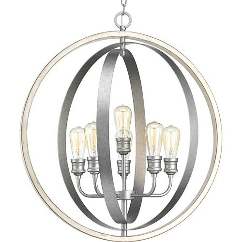 Progress Lighting Conestee Six-Light Pendant