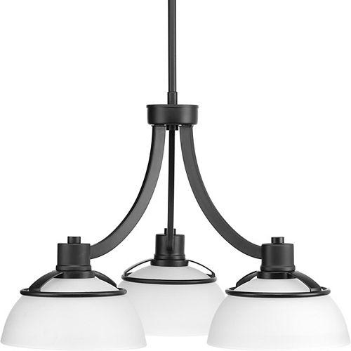 Progress Lighting Lustre Domain à trois lumières