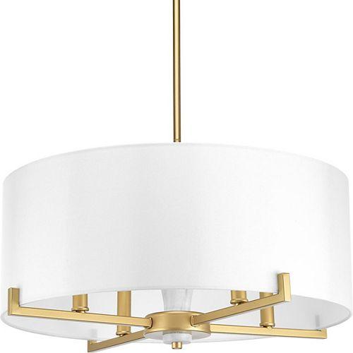 Lampe suspendue Palacio à quatre lumières