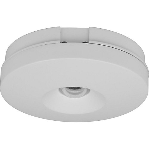 Hide-a-Lite V Collection LED Puck, White Finish