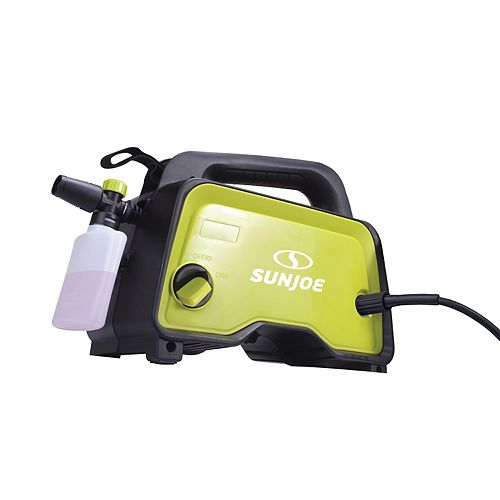 1450 Max PSI 5.6 LPM, 1400W Sun Joe SPX202E Hand-Carry Electric Pressure Washer